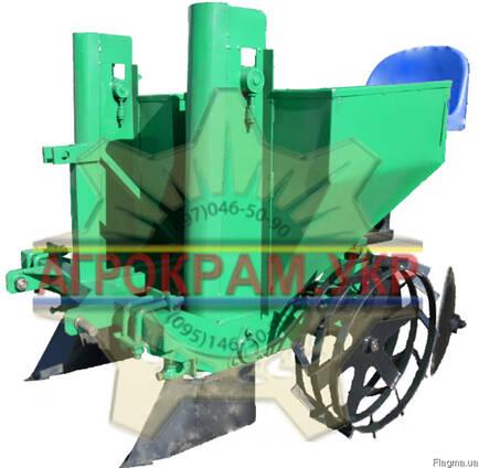 Двухрядная картофелесажалка КСН-2М на минитрактор, трактор