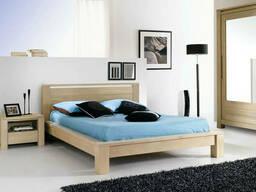 """Двухспальная кровать из массива дерева """"Енрико"""" от производителя"""