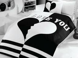 Двухспальные комплекты постельного белья из сатина