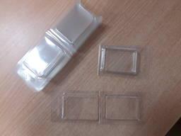 Двухсторонняя блистерная упаковка с перегибом, на защелках