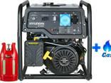 Двухтопливный генератор Hyundai HHY 10000FE ГАЗ-Бензин - фото 1