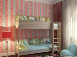 """Двухъярусная кровать """"Альфа"""""""