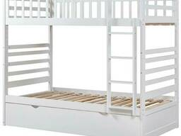 """Двухьярусная кровать из натурального дерева """"Амато"""""""