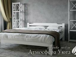 """Двуспальная деревянная кровать """"Софи"""" 160х190"""