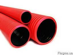 Двустенная труба ПНД жесткая для каб. канализации д. 200 ДКС