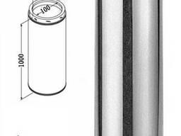 Дымоходная труба, 0,5 мм из нержавеющей стали с оцинковкой
