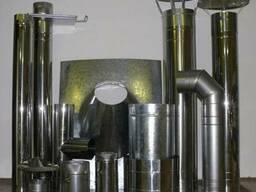 Дымоходы из нержавеющий стали AISI321 AISI304.Продажа Монтаж