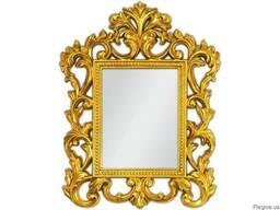 Дзеркало у стилі барокко – оптимальне рішення для малогабари