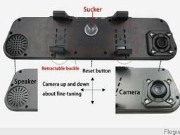 Дзеркало заднього виду з відеореєстратором , автомобільний