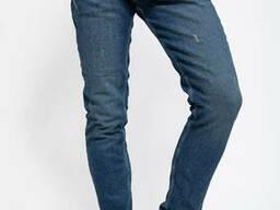 Джинсы мужские 123R15089 цвет Темно-синий