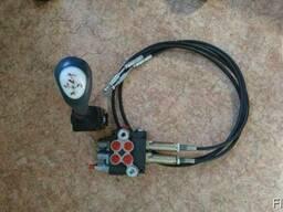 Джойстик тросовой с кнопкой, в комплекте с тросами управлени