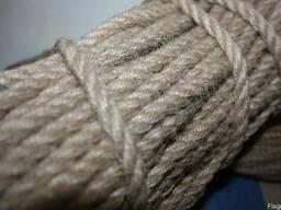 Джутовая веревка 10мм