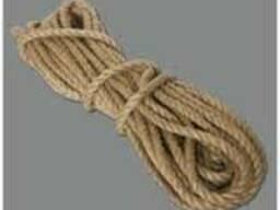 Джутовая веревка 6 мм - 1.25 грн