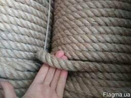 Джутовый канат 22мм - 50метров