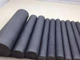 Эбонитовые стержни ф 8-50 мм длиной 600 мм.