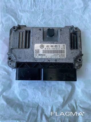 ЭБУ блок управления двигателем на Джетта 11-18 USA 2.0 06G906055S