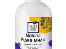 Ecokrasa Натуральне рідке мило «Шавлія та чебрець» 350 мл