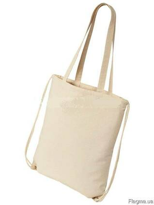 0186ba054fd8 Эко сумка рюкзак: 2 в 1 цена, фото, где купить Киев, Flagma.ua #5113077