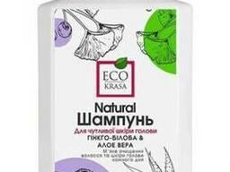 ЕкоКраса Натуральний шампунь для чутливої шкіри голови