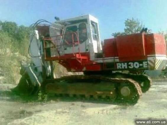 Экскаватор карьерный O&K-TEREX RH 30-E, ковш 5м3, гидравлика