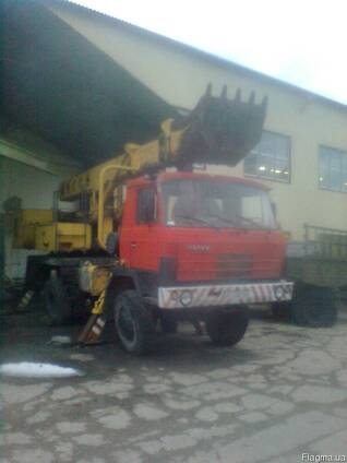 Экскаватор – планировщик УДС 114 на базе Татра, 2002г. в.
