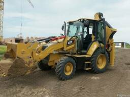 Экскаватор погружчик Caterpillar Cat 432 f