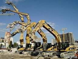 Экскаваторные работы. Подготовка строительных площадок