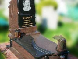 Эксклюзивный детский гранитный надгробный памятник Модель. ..