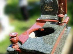 Эксклюзивный гранитный надгробный памятник Модель O-28