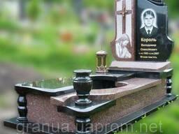 Эксклюзивный гранитный надгробный памятник Модель O-29