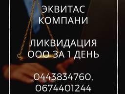 Экспресс-ликвидация ООО Киев. Ликвидируем предпритие путем смены директора.