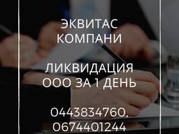 Экспресс-ликвидация ООО в Киеве. Процедура ликвидации ООО за 1 день.