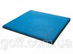 Екстра Гумові покриття для спортивних майданчиків - синє