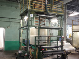 Экструдер для производства полиэтиленовой пленки в Украине FM-60-1000