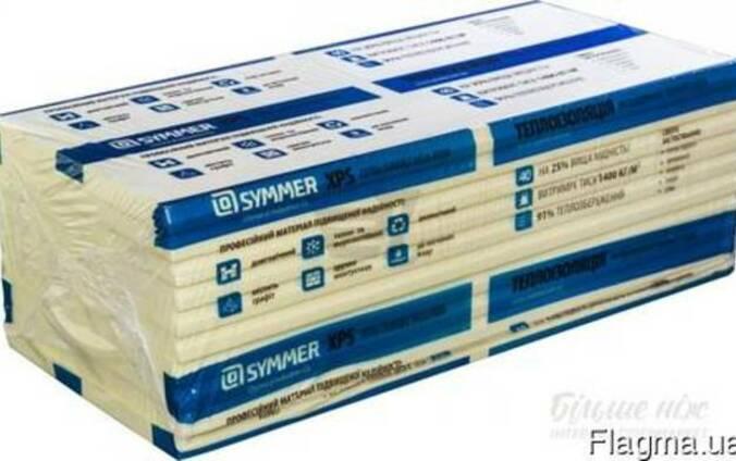 Экструдированный пенополистирол Symmer 50мм