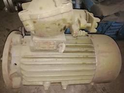 Эл. двигатель 2В100S4У2, 5, 3кВт, 1500 об/мин, взрывозащищённый, с хранения.