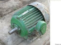 Эл.двигатели на 2 скорости 380V 3.1\4.7кВт 970\1470 об\мин