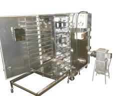 Электрическая коптильная установка Коптильно-варочная камера