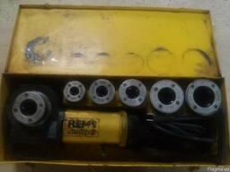 Електричний різьбонарізний клуп Rems Amigo2 Сет R½ -¾-1-1¼-2