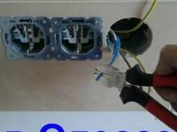 Установлю розетки выключатели, автоматы электрик Одесса