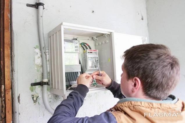 Электрик на дом. Услуги электрика в Донецке