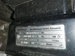 Электродвигатель 13, 5кВт серии RGL для горелок Weishaupt
