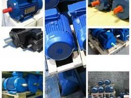Электродвигатель однофазный, трехфазный НОВЫЙ, бу, 220-380в