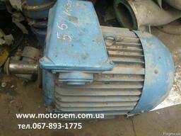 55квт Электродвигатель 55 кВт 1470 об/мин Цена 55 кВт 3000