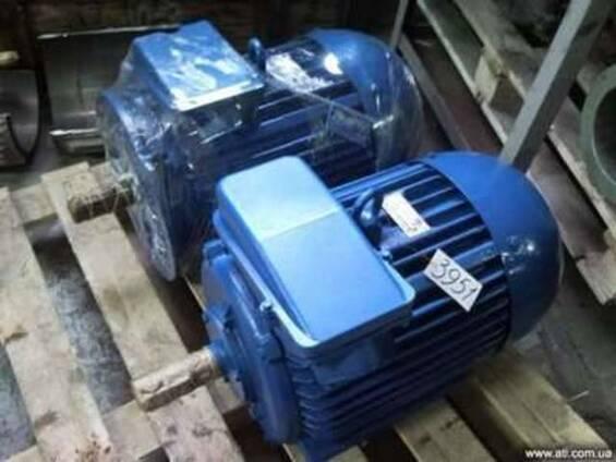 Электродвигатель АИР 160М4 18,5 кВт. 1500 об/мин