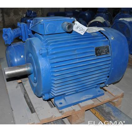 Электродвигатель трёхфазный АИС 225М6 30кВт 1000об/мин