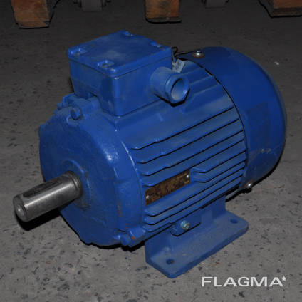 Электродвигатель трёхфазный АМУ 132S6 3кВт 1000об/мин