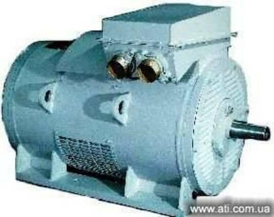 Электродвигатели серии АКН-4 с фазным ротором
