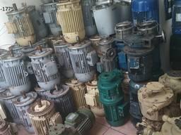 Электродвигатели Судовые МАП; ДМШ; ДМН; АМ; АН-92; АН-101