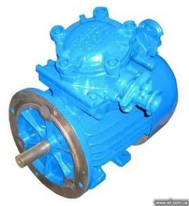 Электродвигатели - взрывозащищенные и общепромышленные